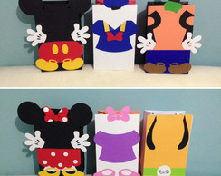 Sacolas Turma do Mickey