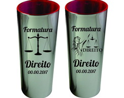 Copo Long Drink Metalizado 350ml
