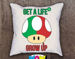 Almofada Super Mario Grow up 35x35cm