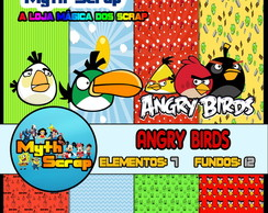 Kit Digital Scrapbook ANGRY BIRDS