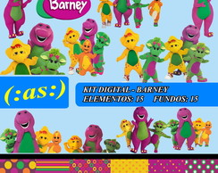 Kit Digital Scrapbook - Barney