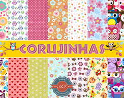 Kit Digital Corujinhas
