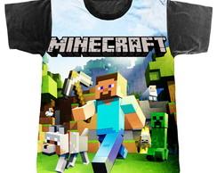 Camiseta Camisa Minecraft Picareta  271a8663fff79