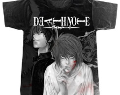 Camiseta Death Note L e Kira