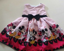VESTIDO MINNIE E MICKEY