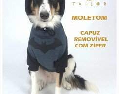 Moletom Pet Heróis Com Touca M