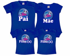 Kit 4 Camisetas Littlest Pet Shop