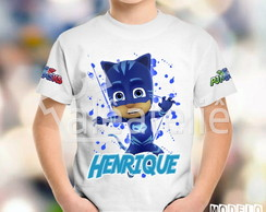 Camiseta PJ Masks Personalizada Connor