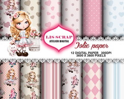 kit de Papel digital jolie