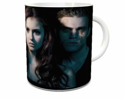 Caneca Branca The Vampire Diaries