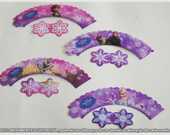 WRAPPERS FROZEN COM ENFEITE- 12UN