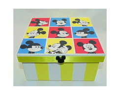 Caixa Mickey Pop Art