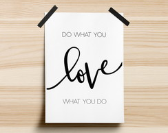 Poster Do What You Love