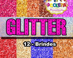 Kit Scrapbook glitter