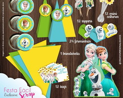 Festa Facil Scrap Frozen Fever Exclusive