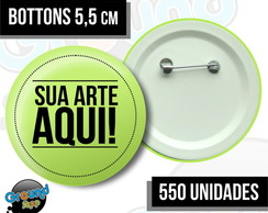 550 Bottons 5,5 Personalizados - Buttom
