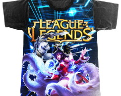 Camiseta League of Legends Ahri e Lee