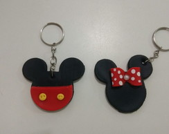 Chaveiros Mickey ou Minnie