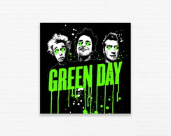 Quadrinho 15x15 Green Day