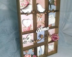 Shadow Box-Porta Chaves-Porta Colar