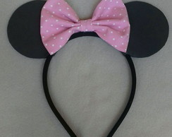 Arco orelha da minnie e mickey