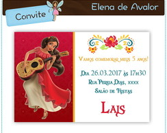 Convite Elena de Avalor | digital