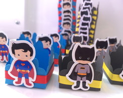 Forminhas para doces Batman vs Superman