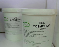 Base Gel hidratante cosmetico pronto 1x1