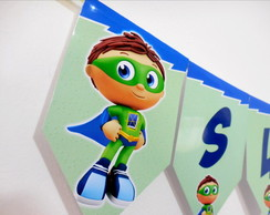 Bandeirola super why