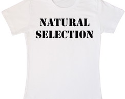 Camiseta Branca Natural Selection