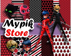 Kit Digital Miraculous Ladybug - 48