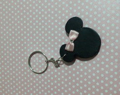 Lembrancinha chaveiro biscuit minnie