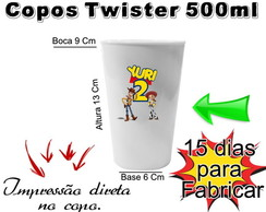 40 Copos Twister Toy Story