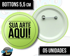 05 Bottons 5,5 Personalizados - Buttom