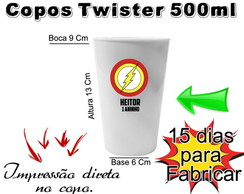 40 Copos Twister The Flash