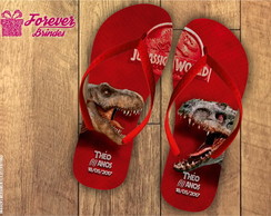 CHINELO INFANTIL - JURRASIC WORLD