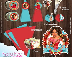 Festa Facil Scrap Elena de Avalor Exclus