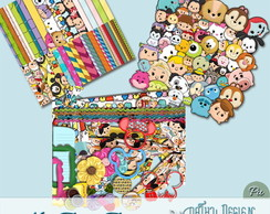Kit Scrapbook Digital Tsum Tsum