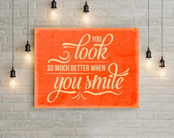 Poster Digital - Smile