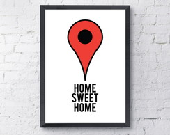 Poster Home Sweet Home - A3