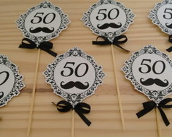 Toppers tema 50 anos