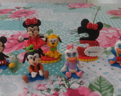 Mini personagens a turma do mickey mouse
