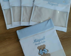 KIT DE ENVELOPES MATERNIDADE URSO