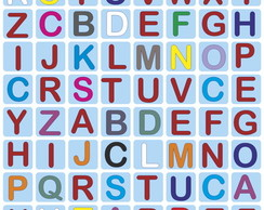Alfabeto Colorido Elo7