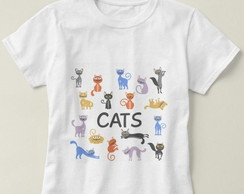 Camiseta Feminina Cats
