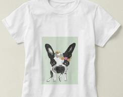 ... Camiseta Feminina Bulldog Francês f0ef5029d7dc7