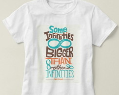 Camiseta Unissex Some Infinities