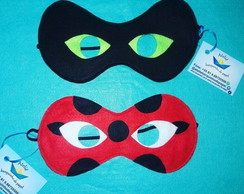 Máscaras Lady Bug / Cat Noir