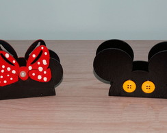 Porta Guardanapos Mickey ou Minnie