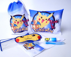 FESTA DO PIJAMA - KIT COMPLETO POKEMON